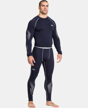 Men's UA Hockey Grippy Fitted Leggings  1 Color $40.99