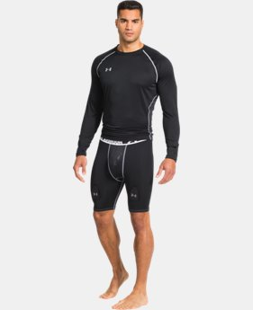 Men's UA Hockey Grippy Compression Short W/ Cup  1 Color $32.99