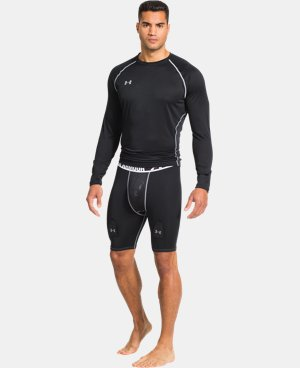Men's UA Hockey Grippy Compression Short W/ Cup  1 Color $31.49