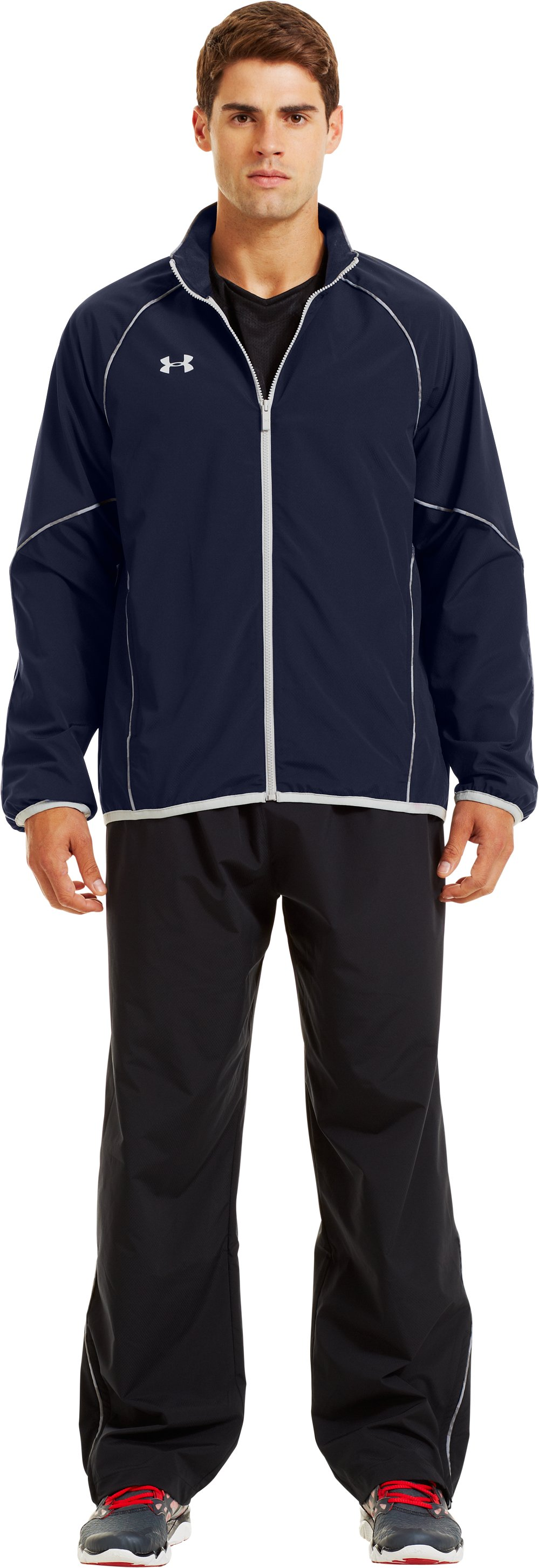 Men's UA Storm Puck Warm-Up Jacket, Midnight Navy