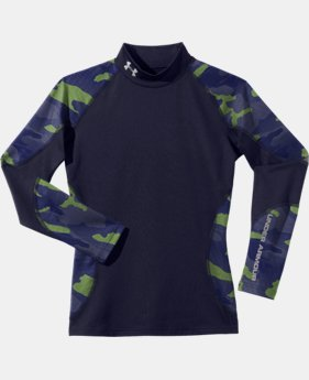 Boys' ColdGear® Infrared Multiplier Mock