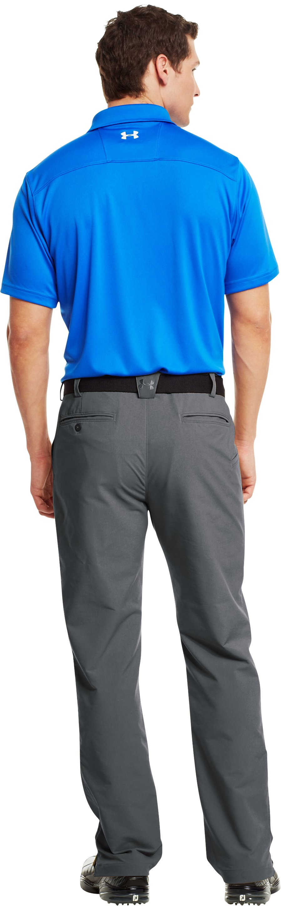 Men's UA Energy Graphic Polo, Moon Shadow, Back