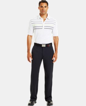 Men's UA Operative Stripe Polo  1 Color $34.99