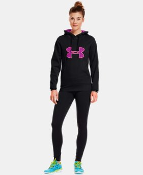 Women's Armour® Fleece Storm Big Logo Hoodie LIMITED TIME: UP TO 30% OFF 2 Colors $32.99 to $38.99