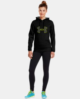 Women's Armour® Fleece Storm Big Logo Hoodie  1 Color $32.99