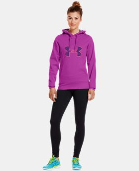 Women's Armour® Fleece Storm Big Logo Hoodie   $32.99