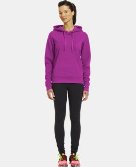 Women's Armour® Fleece Storm Eclipse Big Logo Hoodie