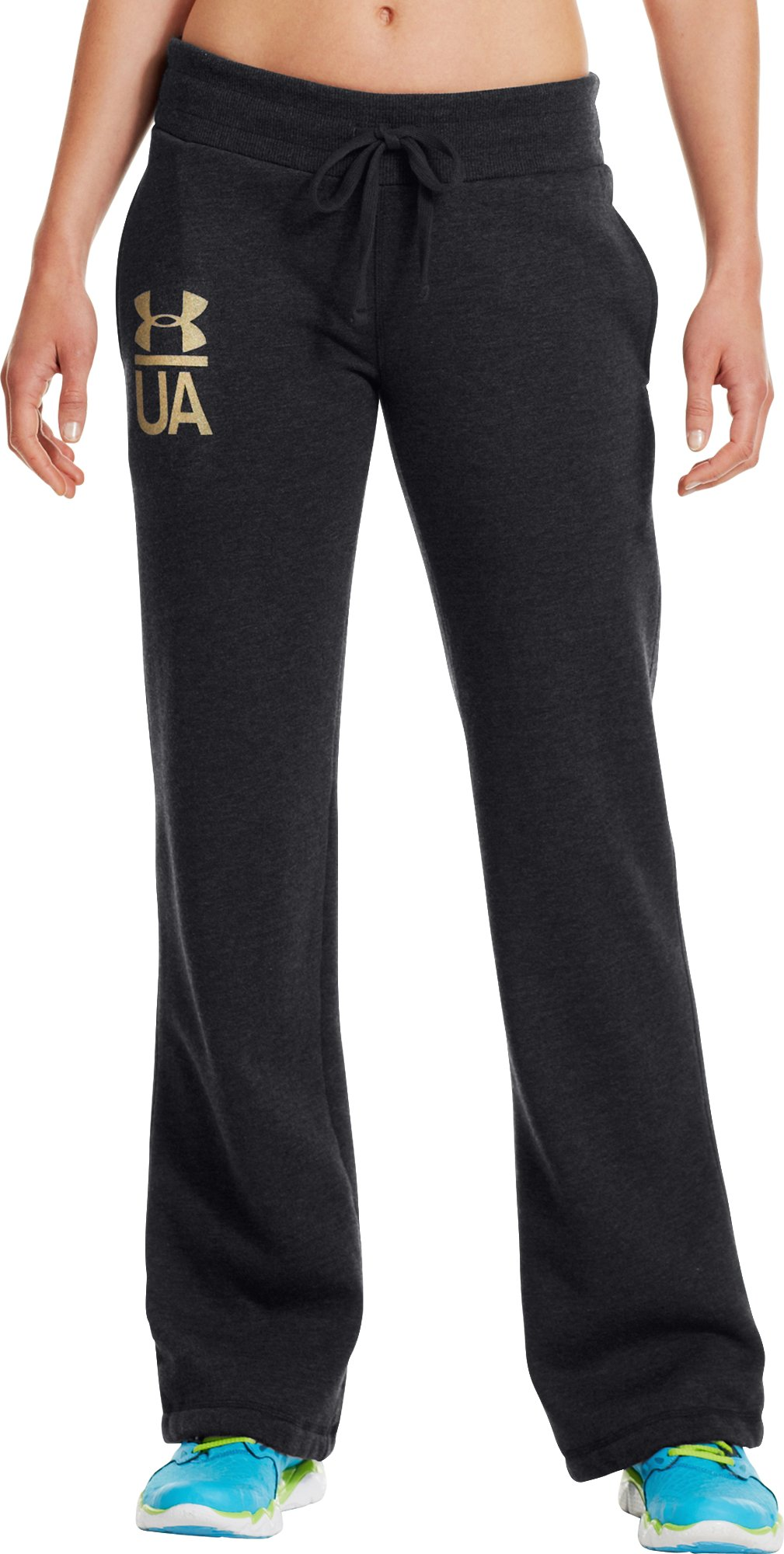 Women's Charged Cotton® Legacy Pant, Black , zoomed image