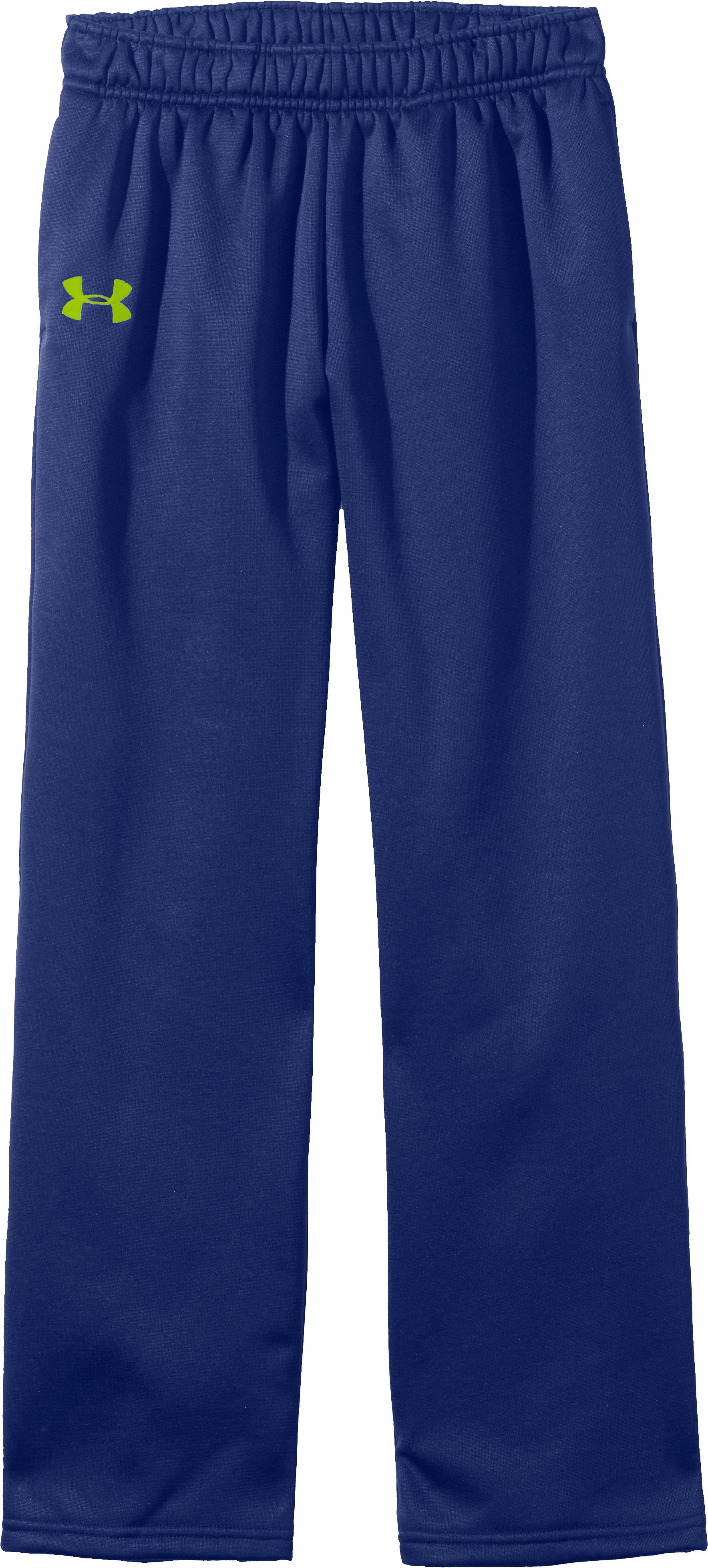 Girls' Armour® Fleece Pant, BLU-AWAY, Laydown
