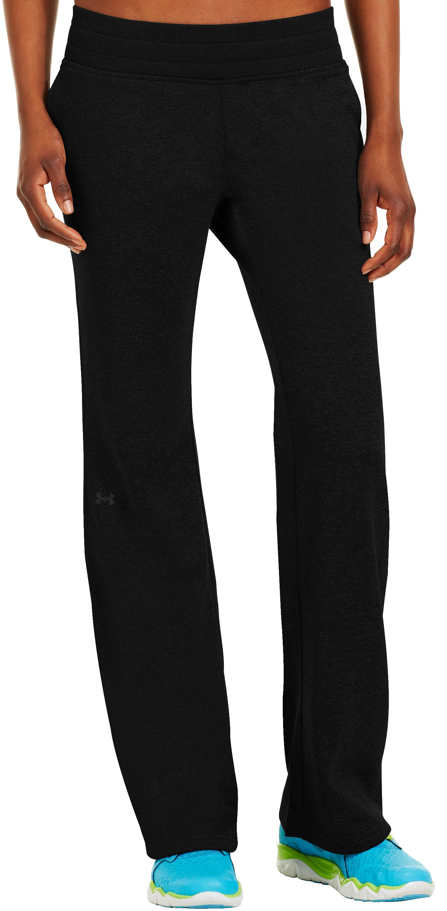 "Women's Armour® Fleece Storm 32"" Pant, Black , zoomed image"