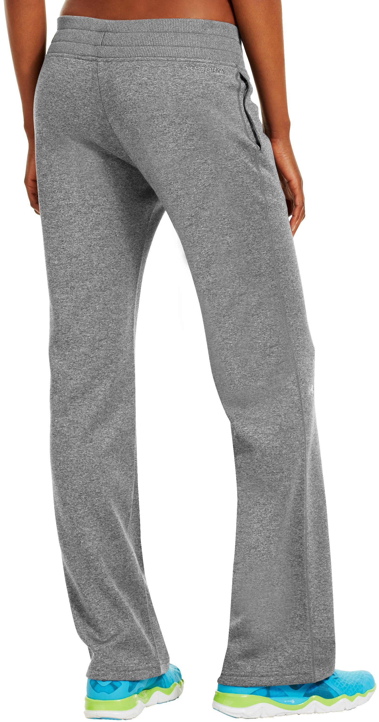 "Women's Armour® Fleece Storm 32"" Pant, True Gray Heather, undefined"