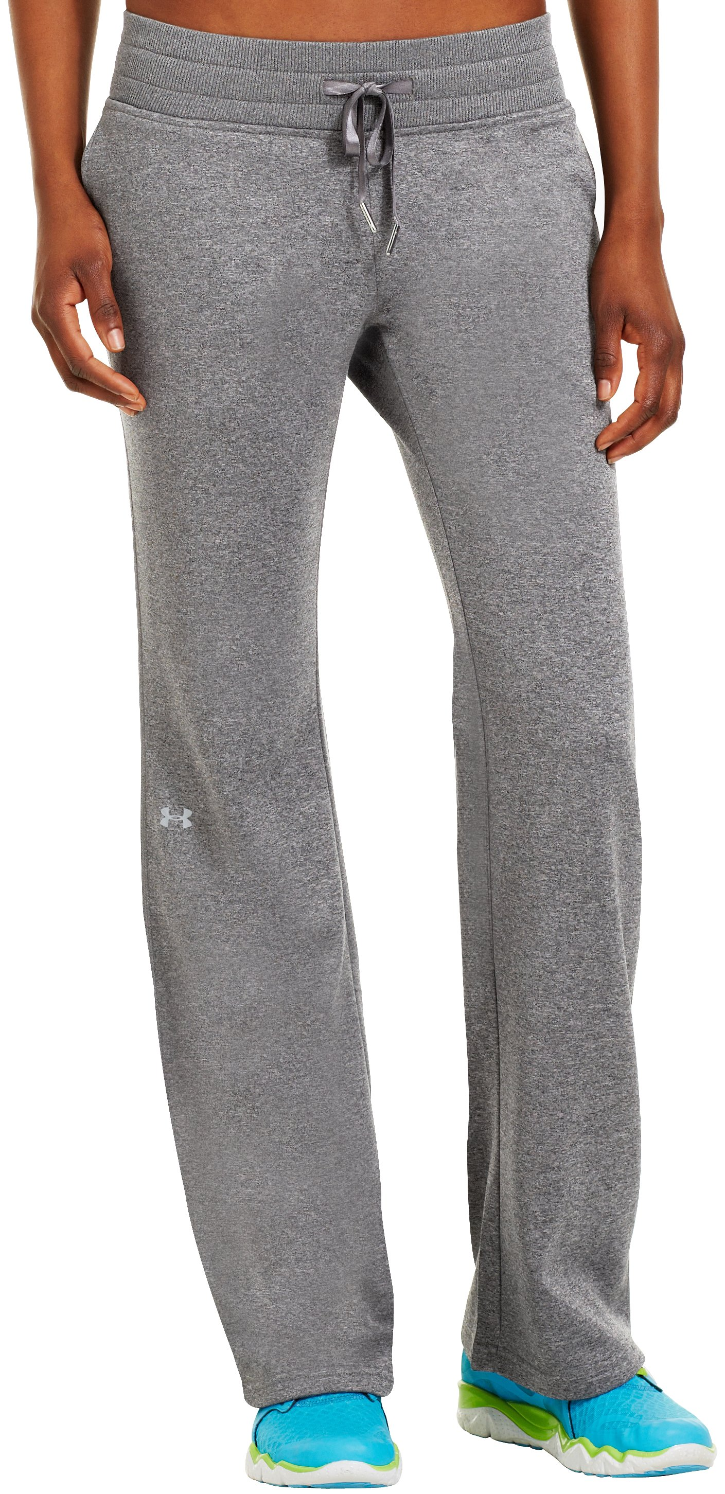 "Women's Armour® Fleece Storm 32"" Pant, True Gray Heather, zoomed image"
