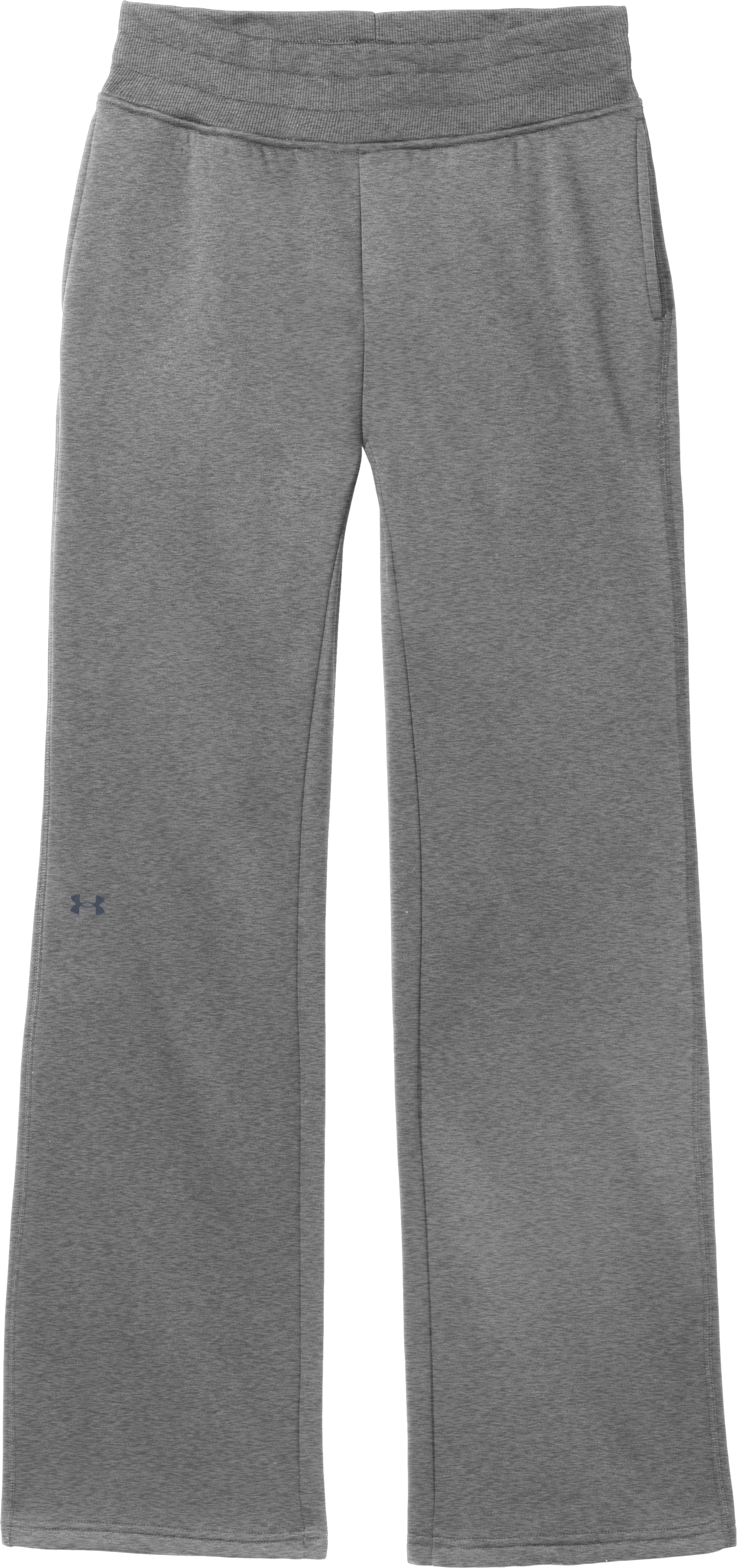 "Women's Armour® Fleece Storm 32"" Pant, True Gray Heather, Laydown"