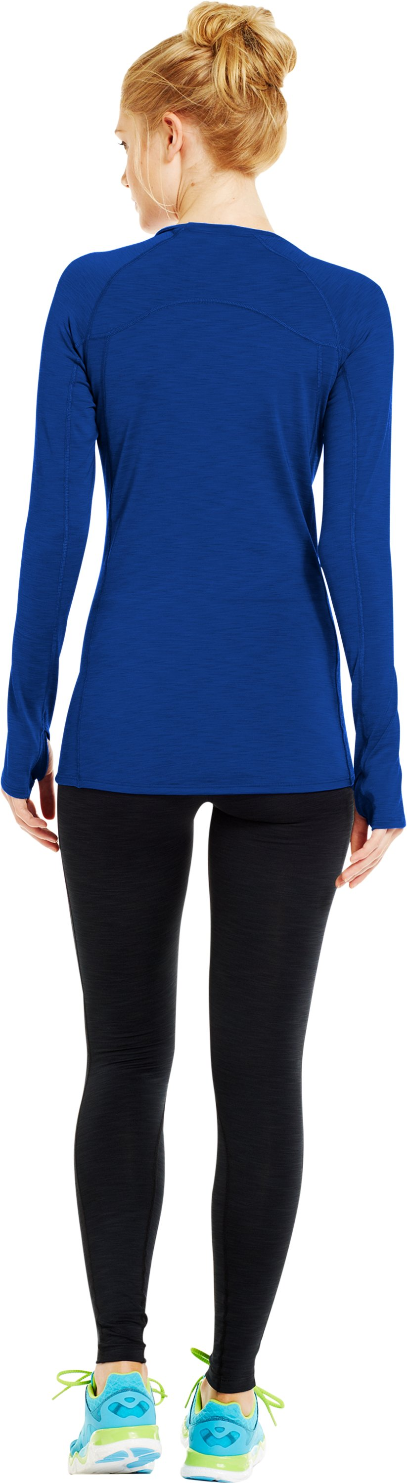 Women's UA Cozy Crew, BLU-AWAY, Back