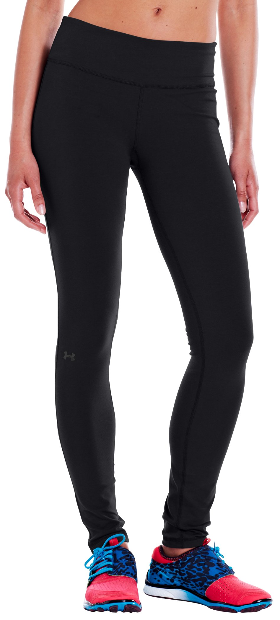 "Women's Charged Cotton® Ultimate 28"" Legging, Black"