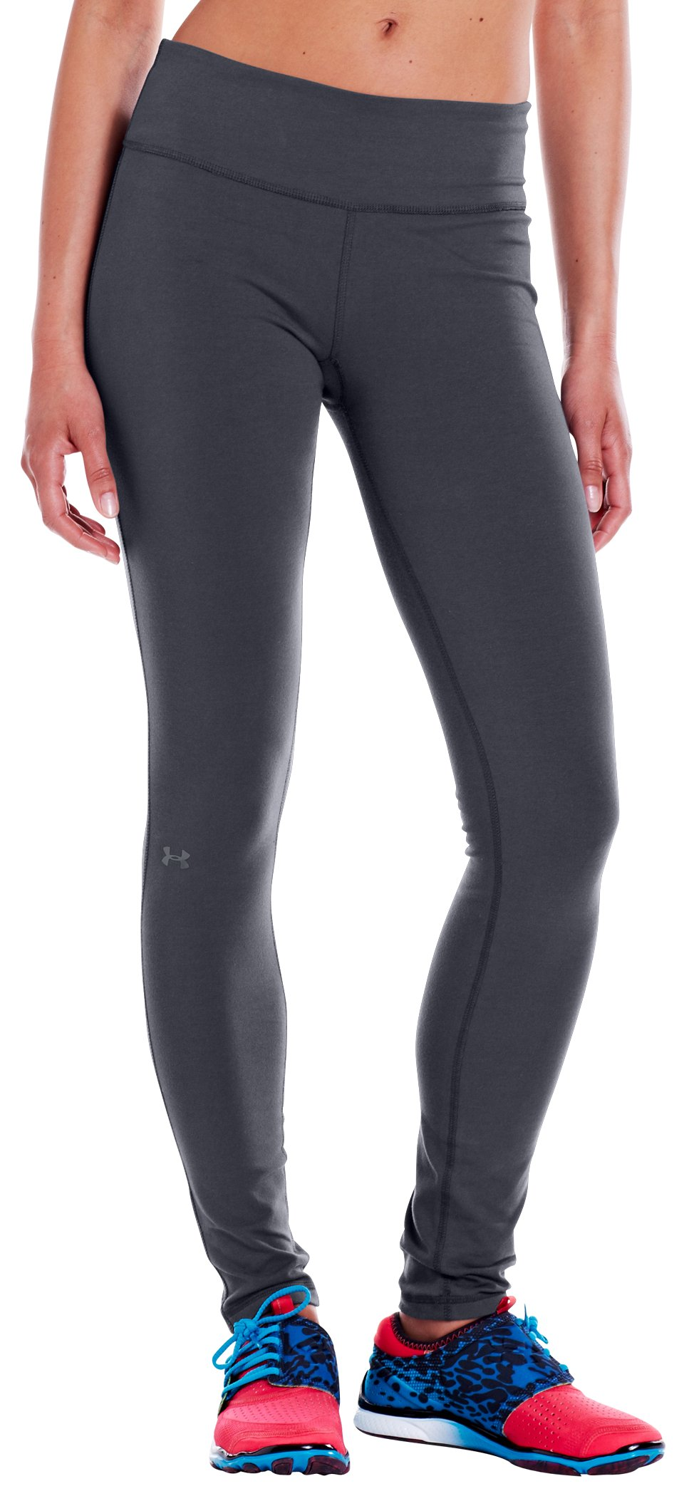 "Women's Charged Cotton® Ultimate 28"" Legging, Lead,"