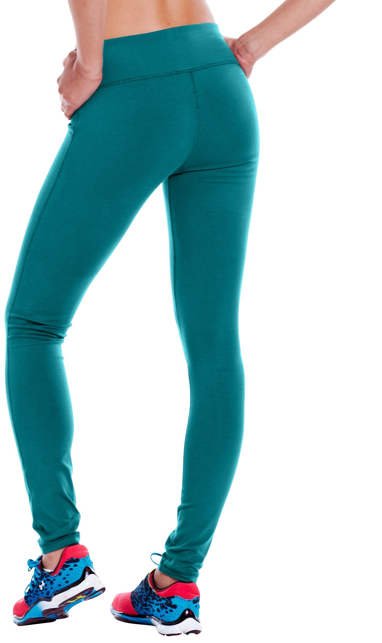 "Women's Charged Cotton® Ultimate 28"" Legging, CERULEAN"