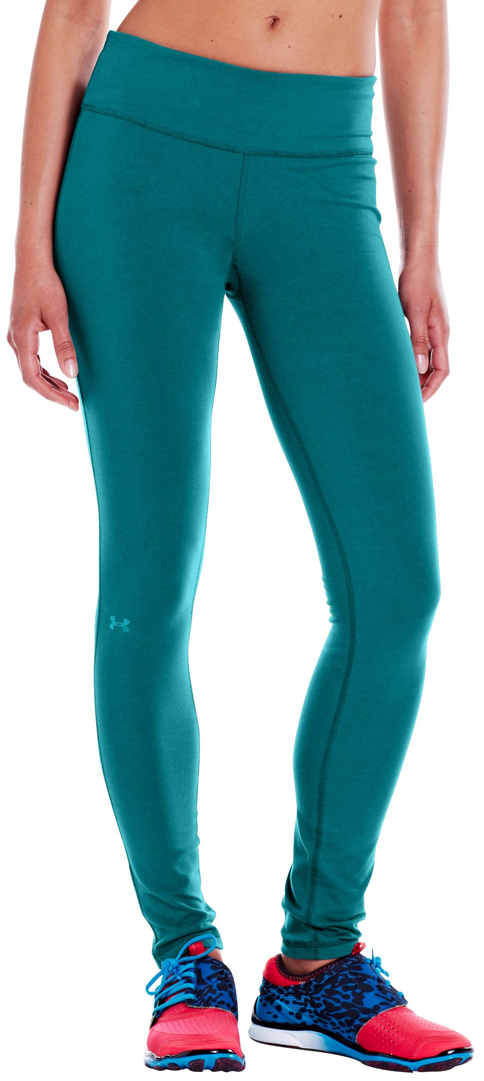 "Women's Charged Cotton® Ultimate 28"" Legging, CERULEAN, zoomed image"