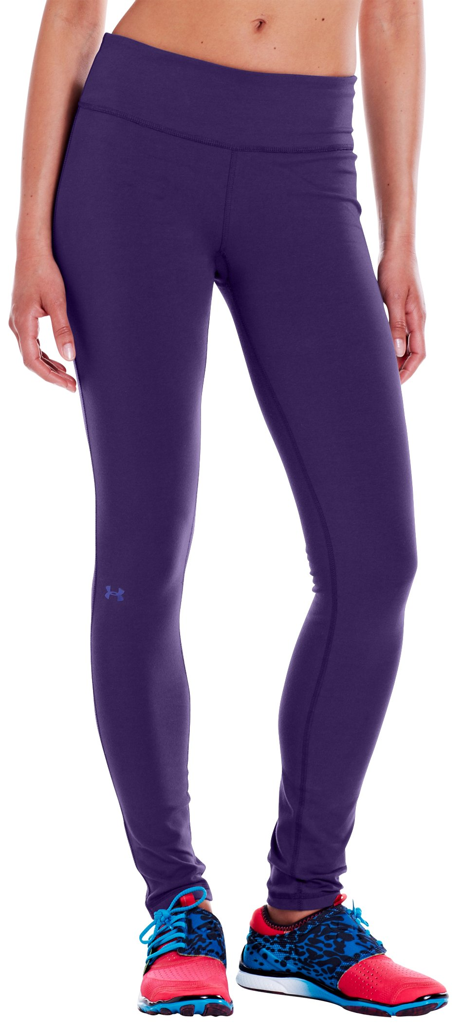 "Women's Charged Cotton® Ultimate 28"" Legging, Purple Rain, zoomed image"