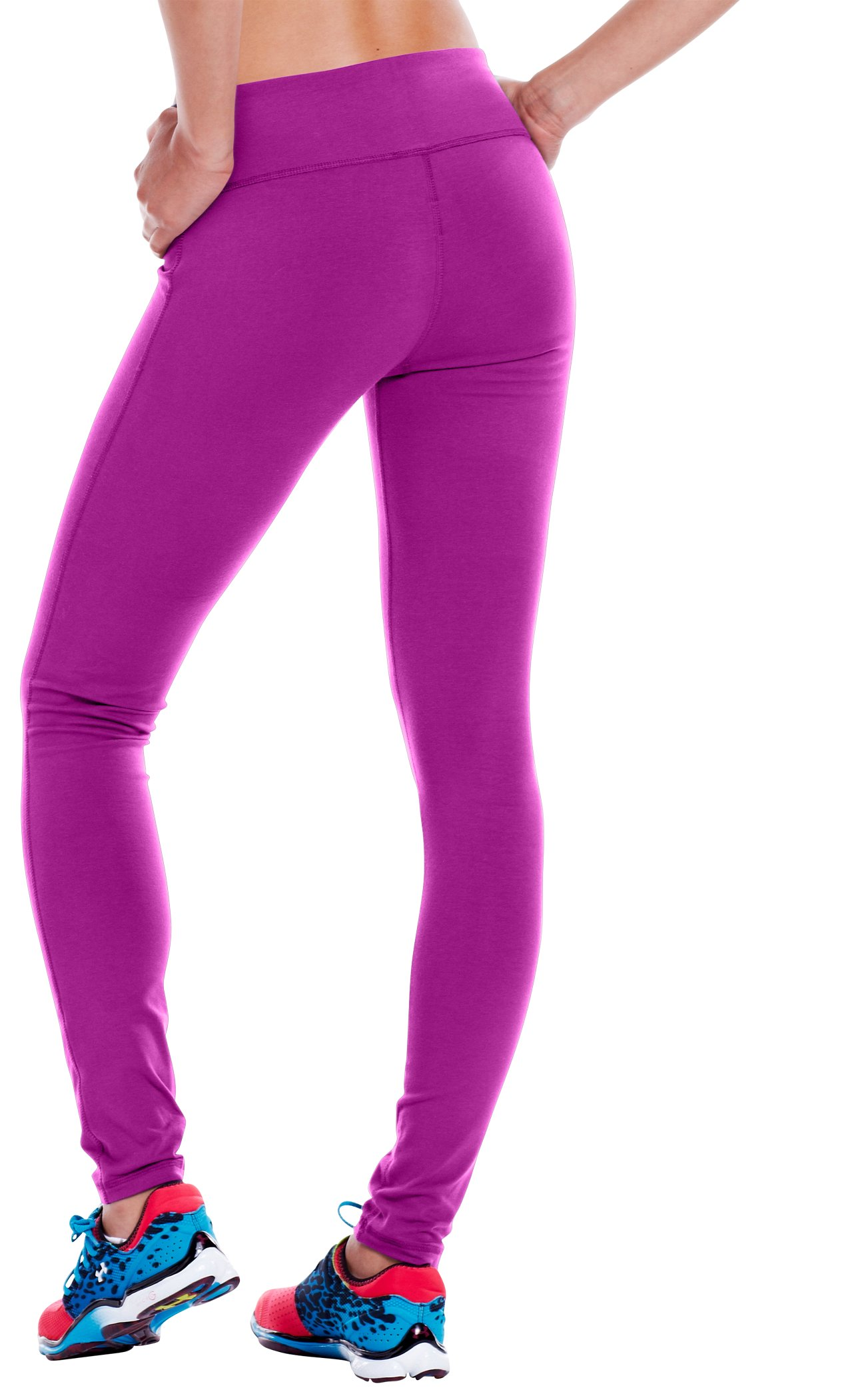 "Women's Charged Cotton® Ultimate 28"" Legging, STROBE, undefined"