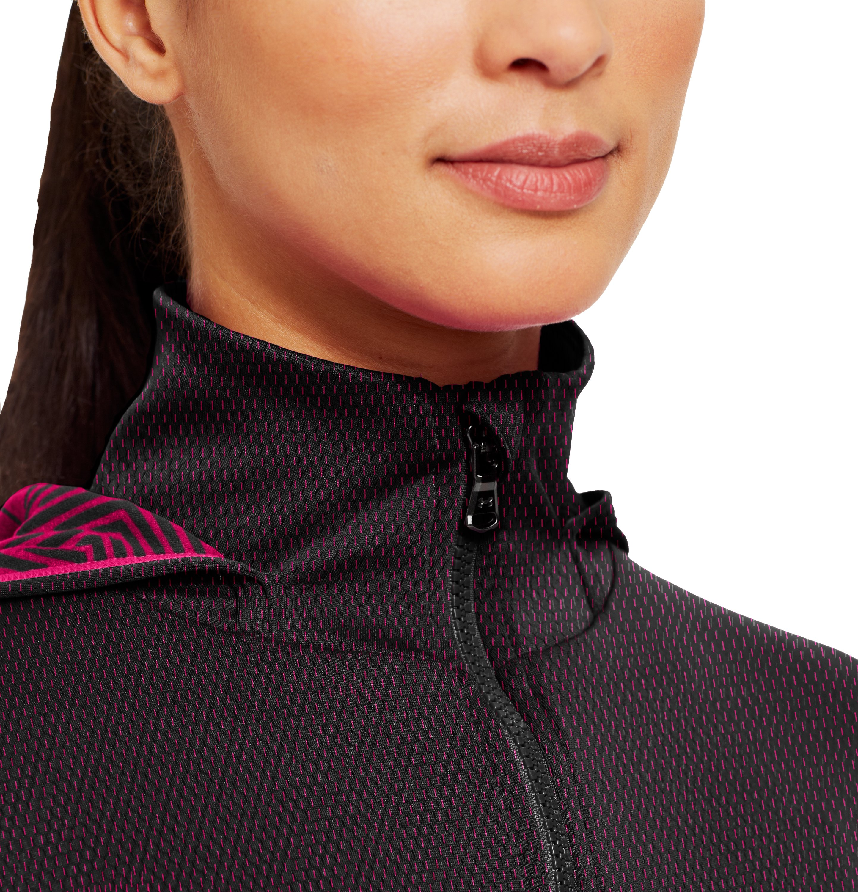 Women's ColdGear® Infrared Thermo Full Zip Hoodie, Black