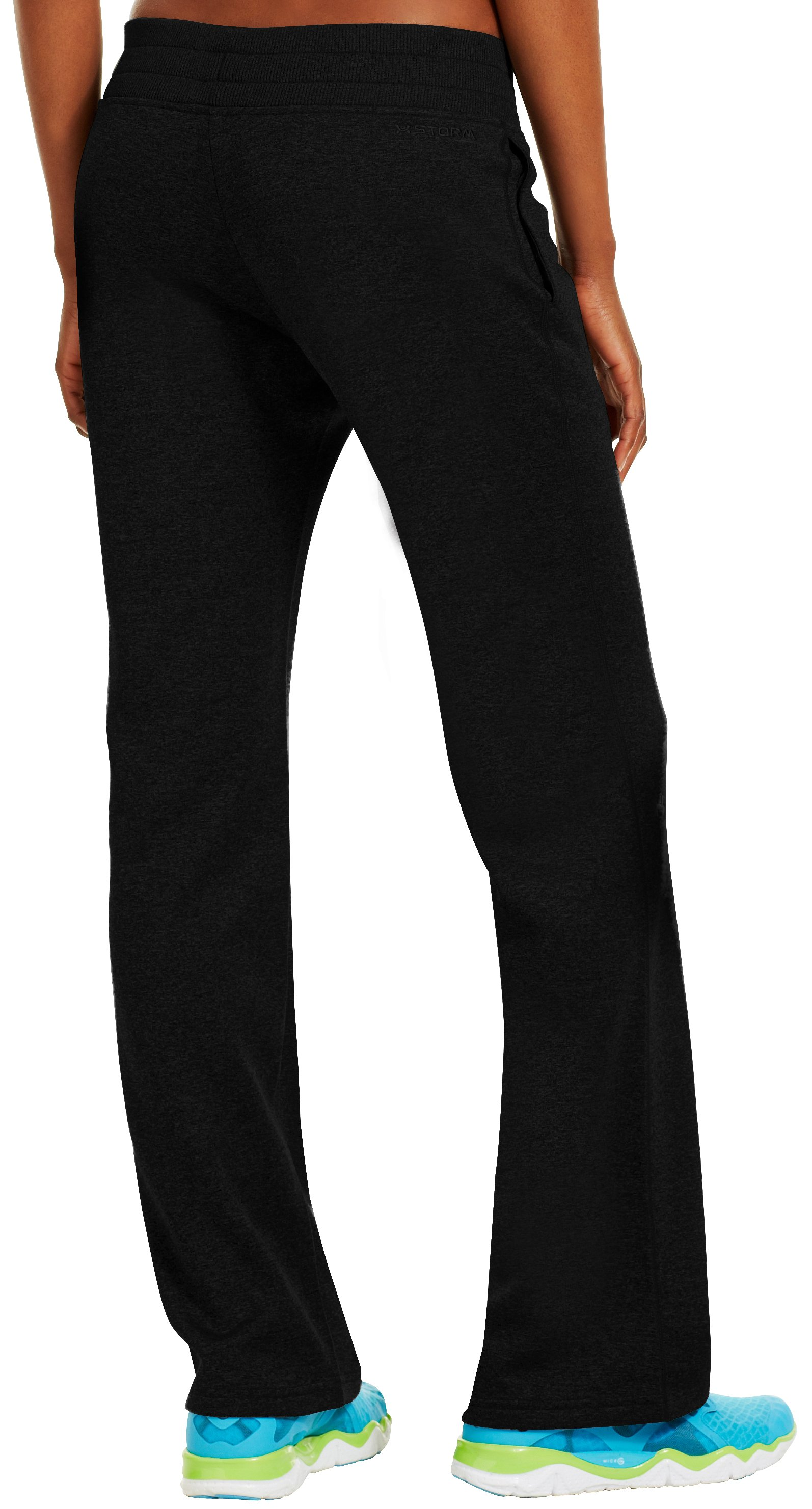 "Women's 34"" Armour® Fleece Storm Pant - Tall, Black"