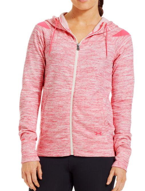 Women's Charged Cotton® Storm Marble Full Zip Hoodie | Under Armour US