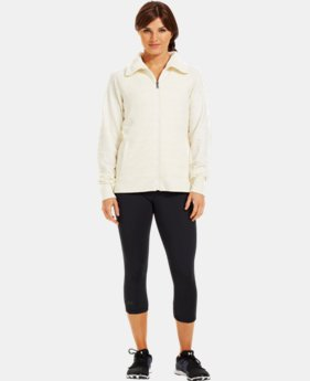 Women's Charged Cotton® Storm Marble Sherpa Full Zip