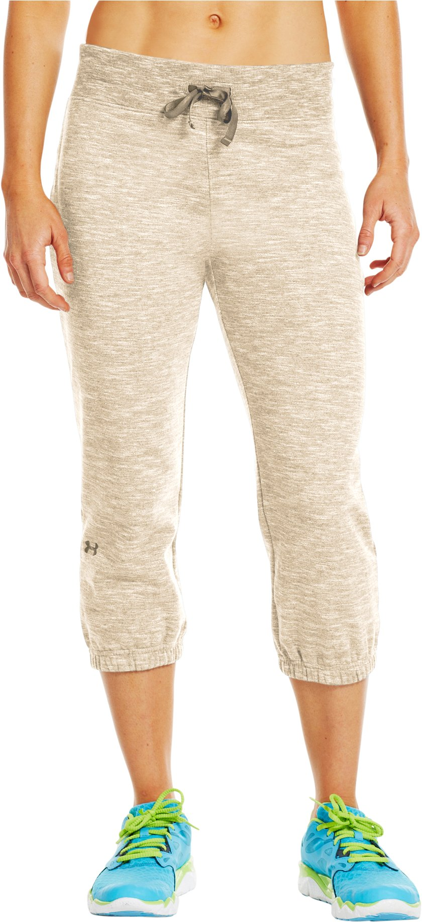 "Women's Charged Cotton® Storm Marble 21"" Capri, TUSK,"