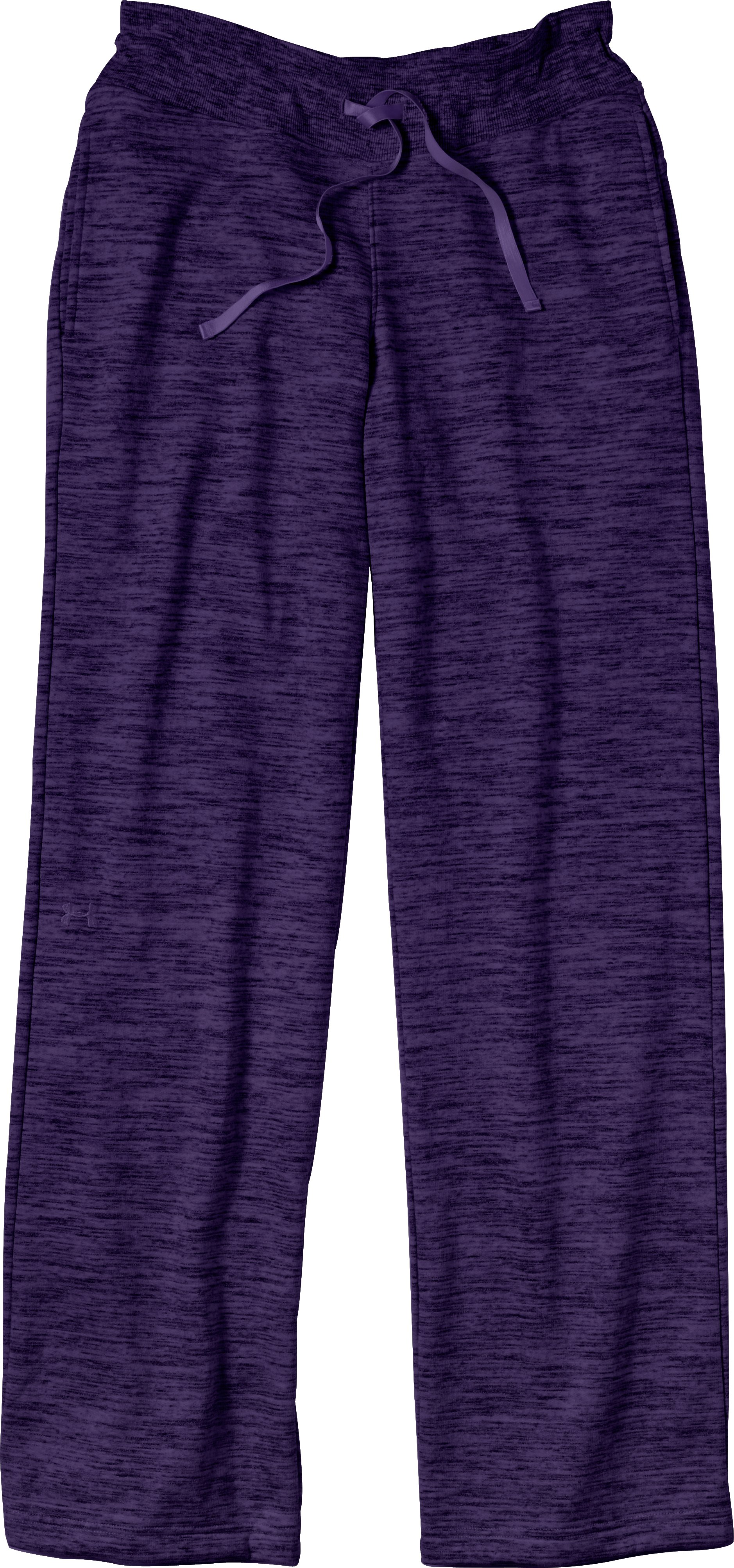 "Women's Charged Cotton® Storm Marble 32"" Pant, Purple Rain, Laydown"