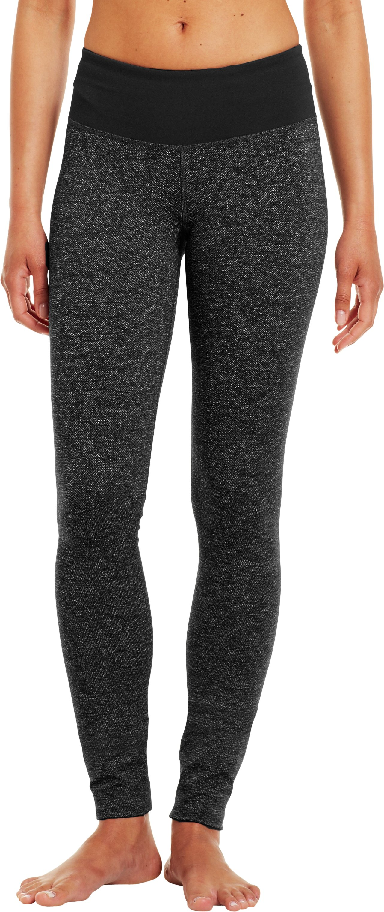 Women's UA StudioLux® Cozy Legging, Asphalt Heather