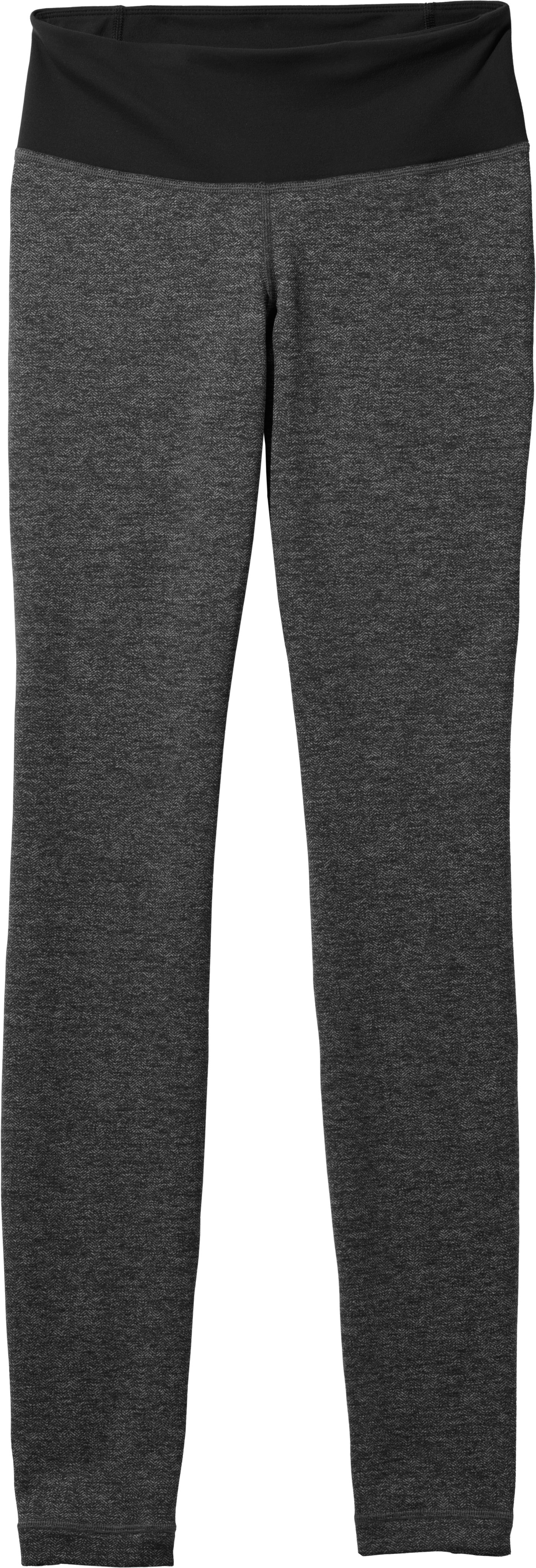 Women's UA StudioLux® Cozy Legging, Asphalt Heather, Laydown
