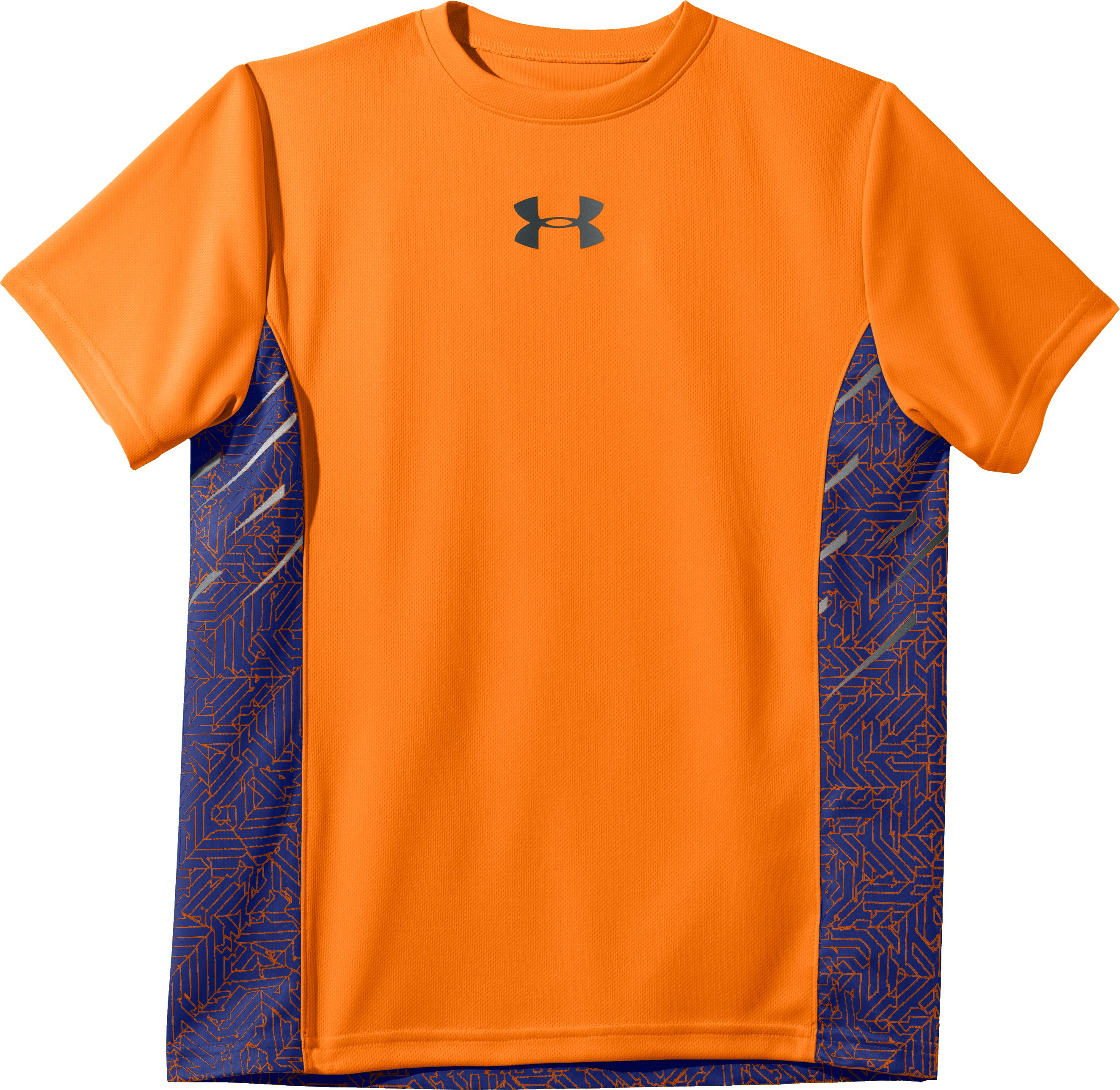Boys' UA Watch Out Short Sleeve, full size