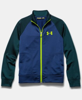 Boys' UA Brawler Knit Warm-Up Jacket 2.0