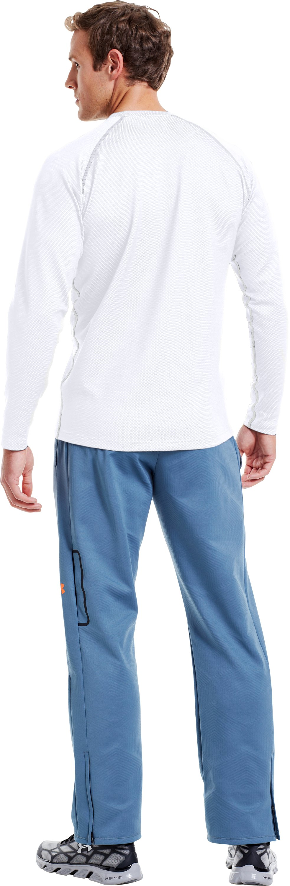 Men's ColdGear® Infrared Thermo Crew, White, Back