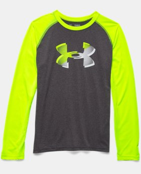 Boys' UA Tech™ Big Logo Long Sleeve T-Shirt