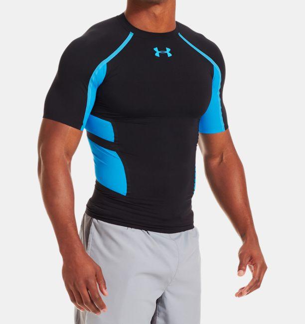 Men s UA HeatGear® Armour® Stretch Short Sleeve Compression T-Shirt ... 7eaca4c9380b