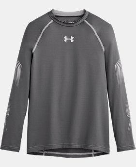 Boys'' UA Hockey Grippy Fitted Shirt