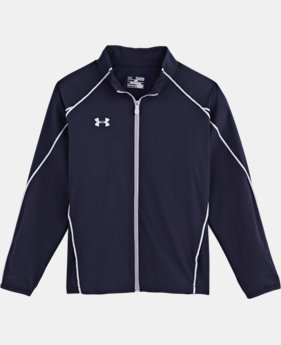 Boys' UA Storm Puck Warm-Up Jacket