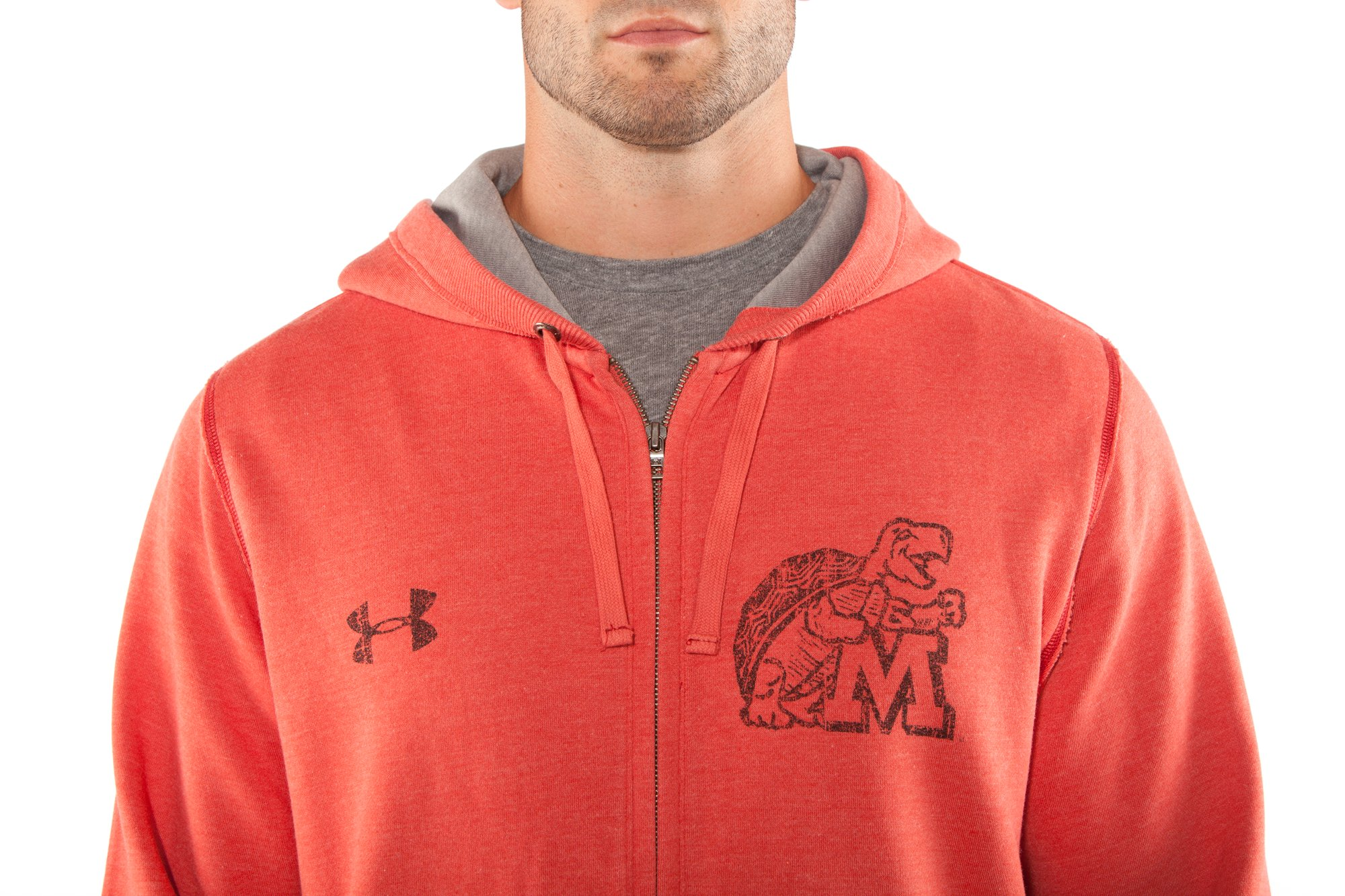Men's Maryland Under Armour® Legacy Hoodie, Red,