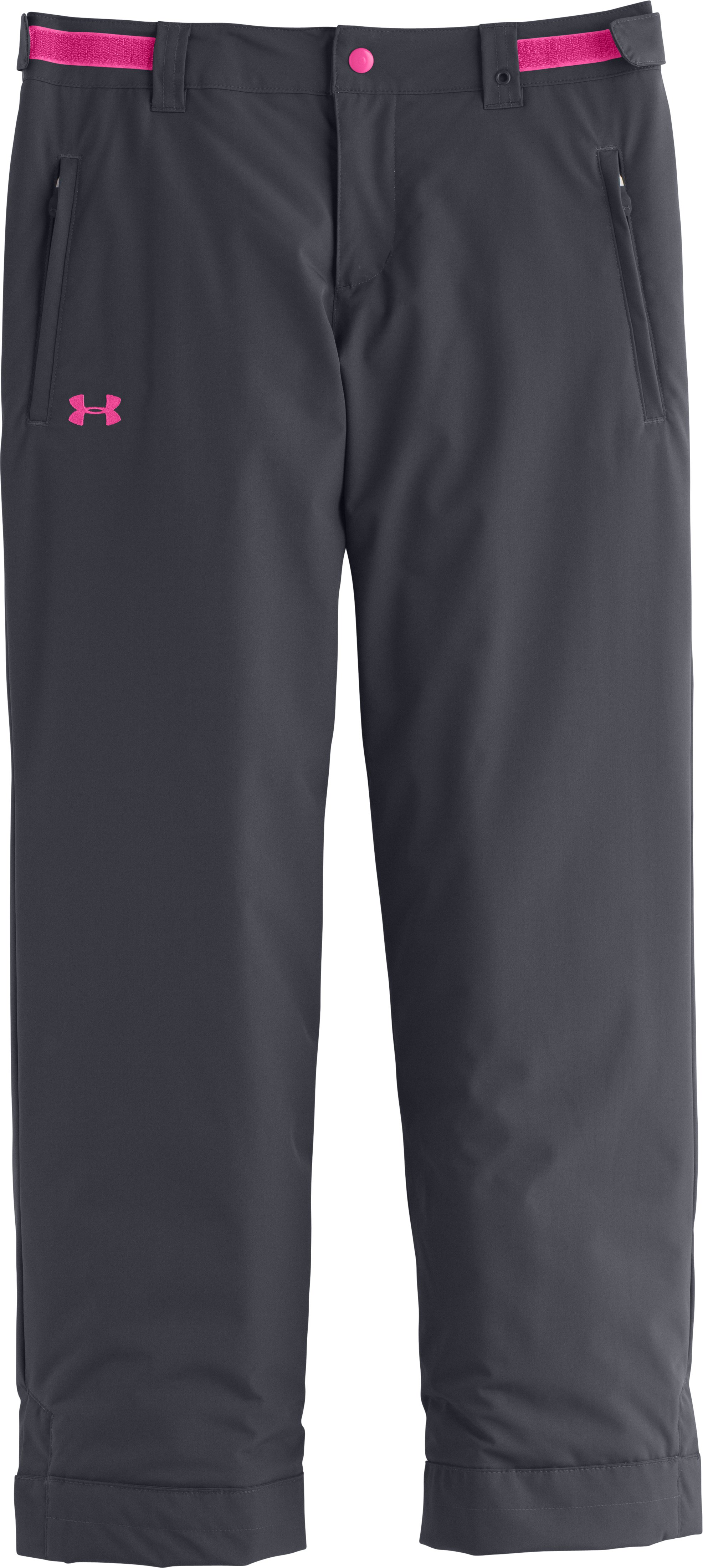 Girls' ColdGear® Infrared Fader Pant, Lead, Laydown