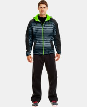 Men's Armour® Fleece Storm Full Zip Hoodie  1 Color $41.99