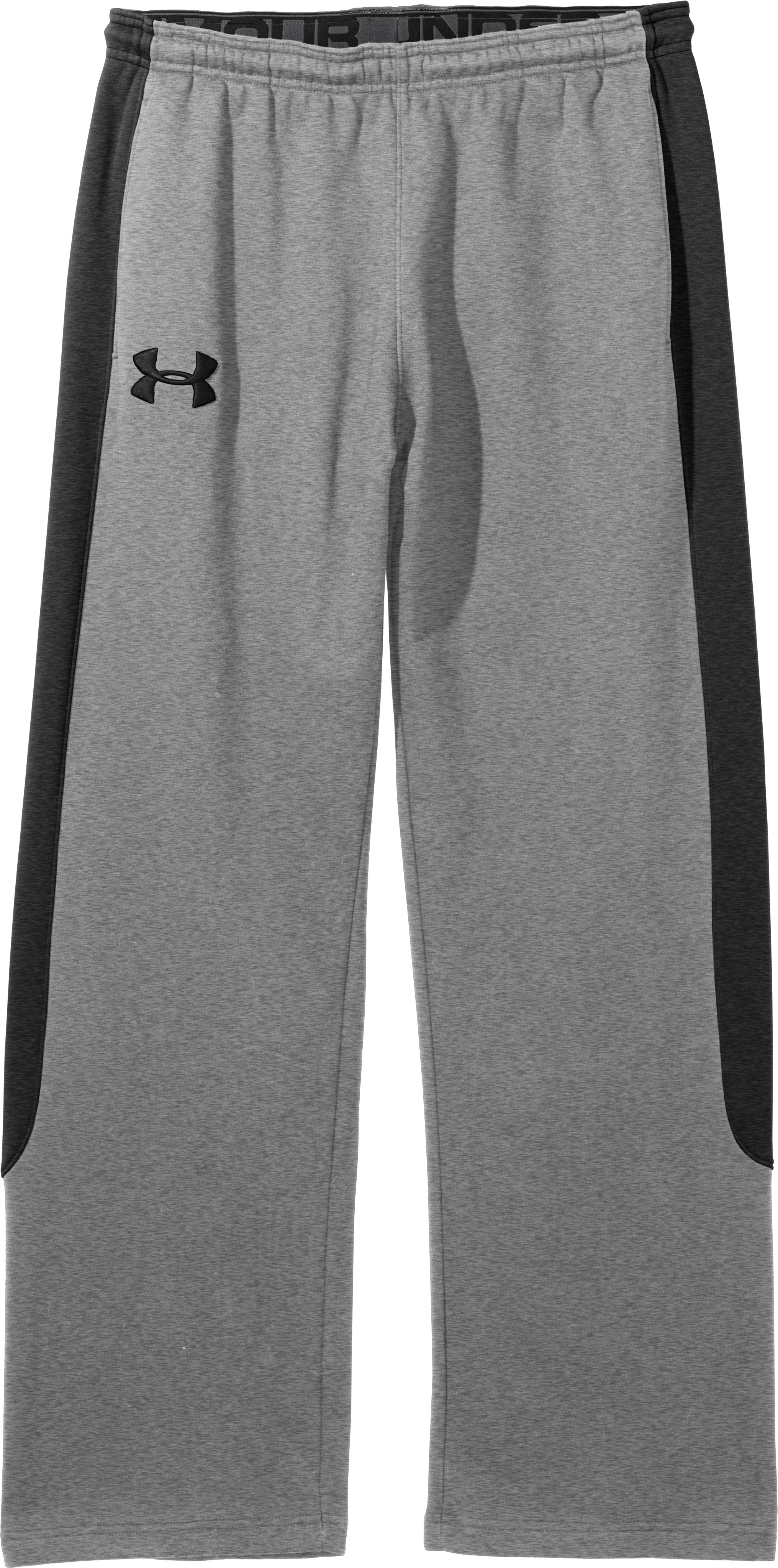 Men's Charged Cotton® Storm Pants, True Gray Heather, Laydown