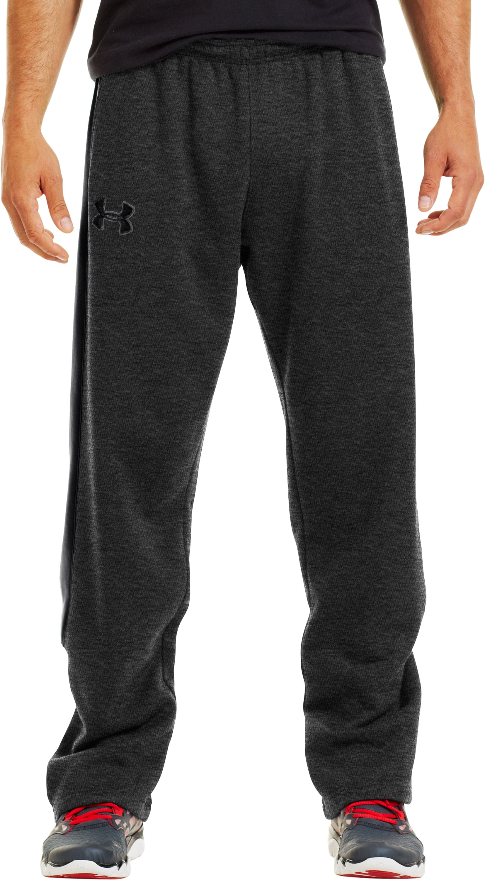 Men's Charged Cotton® Storm Pants, Carbon Heather, zoomed image