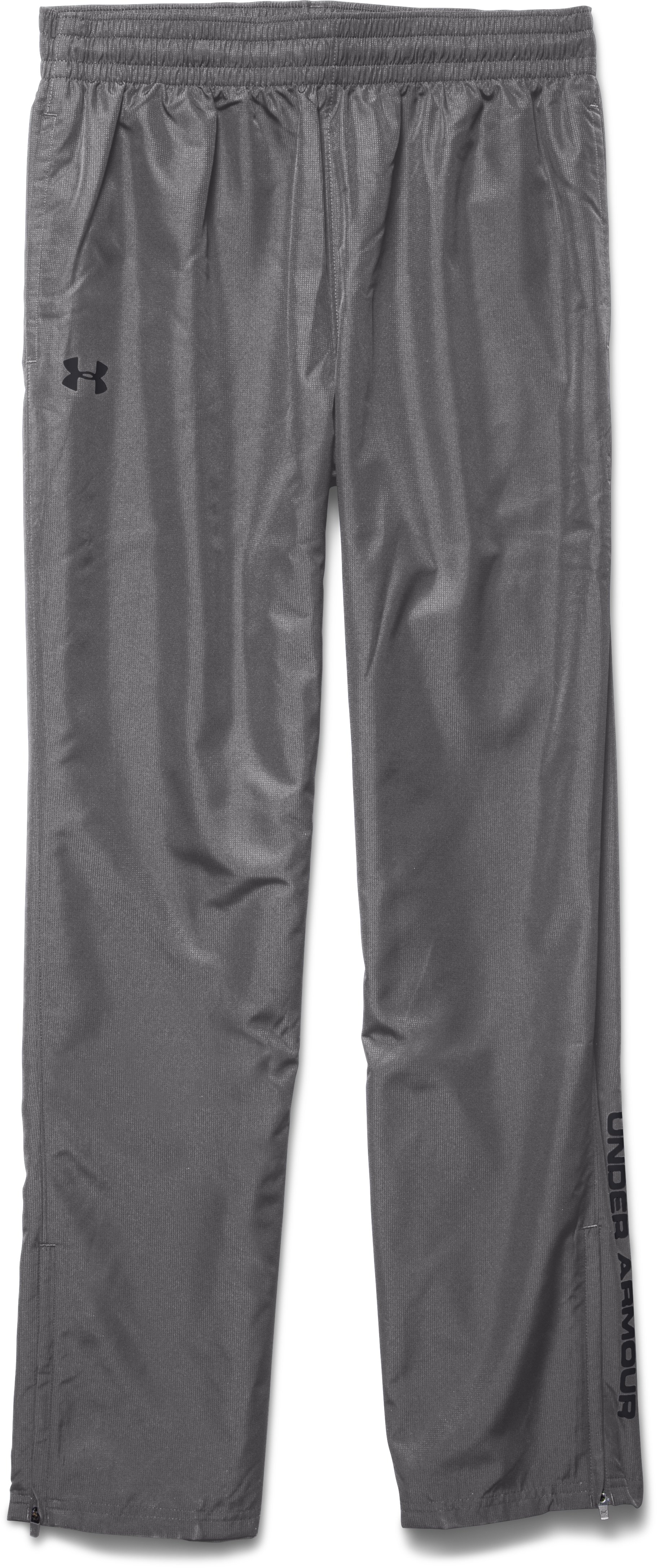 Men's UA Vital Warm-Up Pants, Graphite, Laydown