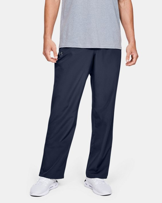 Men's UA Vital Warm-Up Pants, Navy, pdpMainDesktop image number 0
