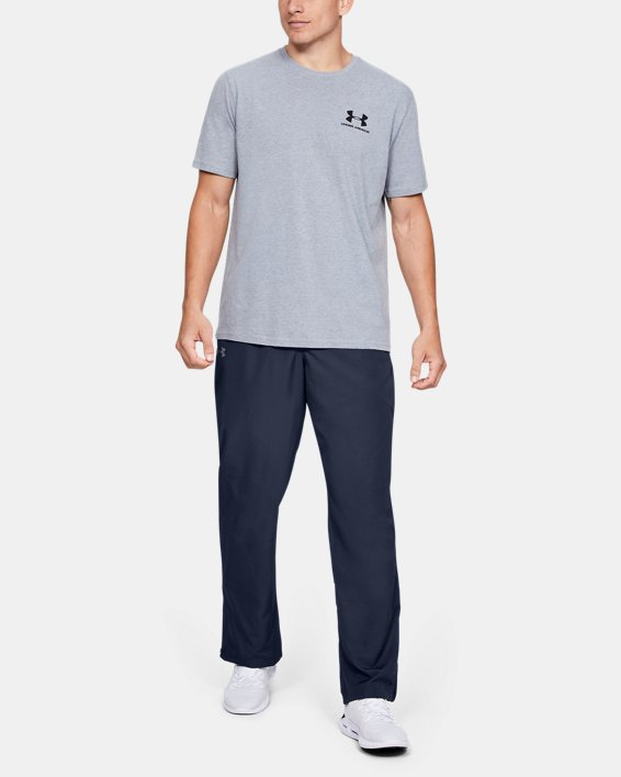Men's UA Vital Warm-Up Pants, Navy, pdpMainDesktop image number 1