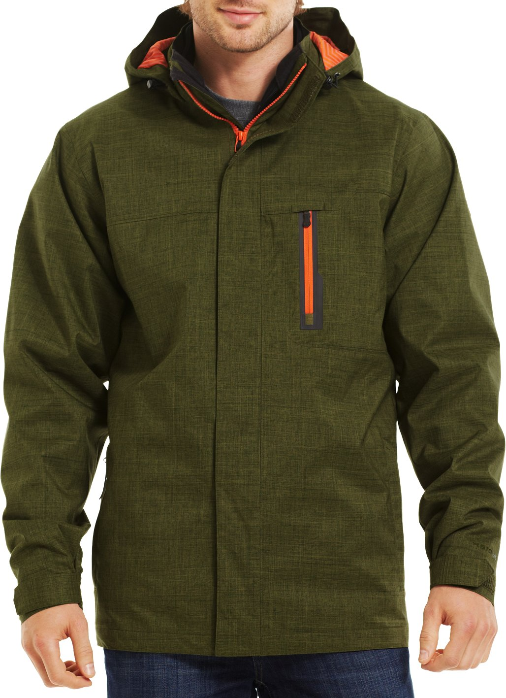 Men's ColdGear® Infrared Furley 3-in-1 Jacket, GREENHEAD, zoomed image