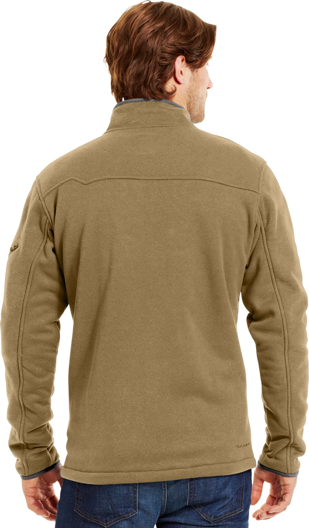 Men's Extreme ColdGear® Jacket, DEER HIDE, Back
