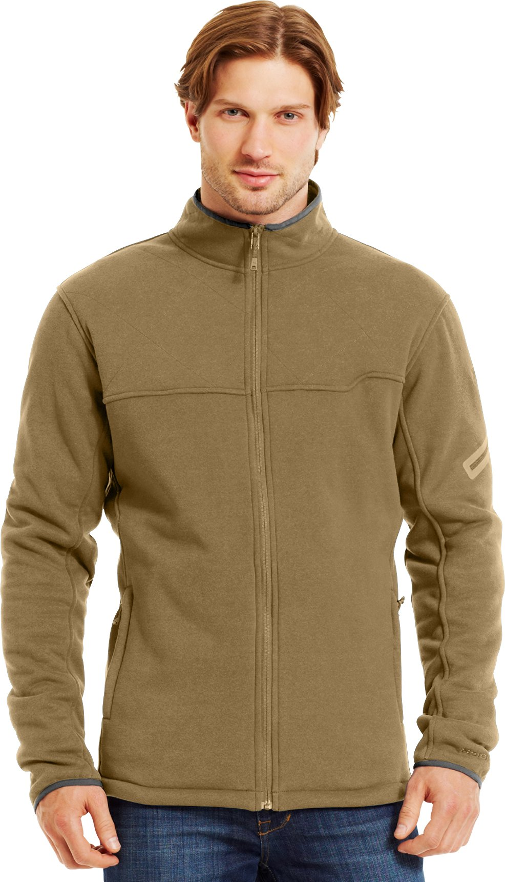Men's Extreme ColdGear® Jacket, DEER HIDE, Front